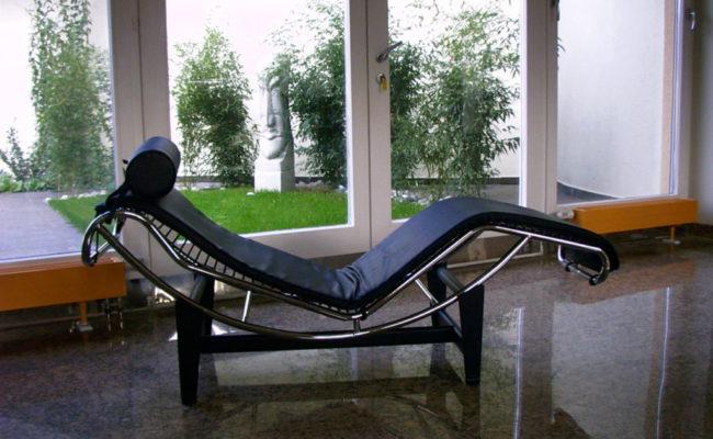 Le Corbusier  dívány a nappaliban